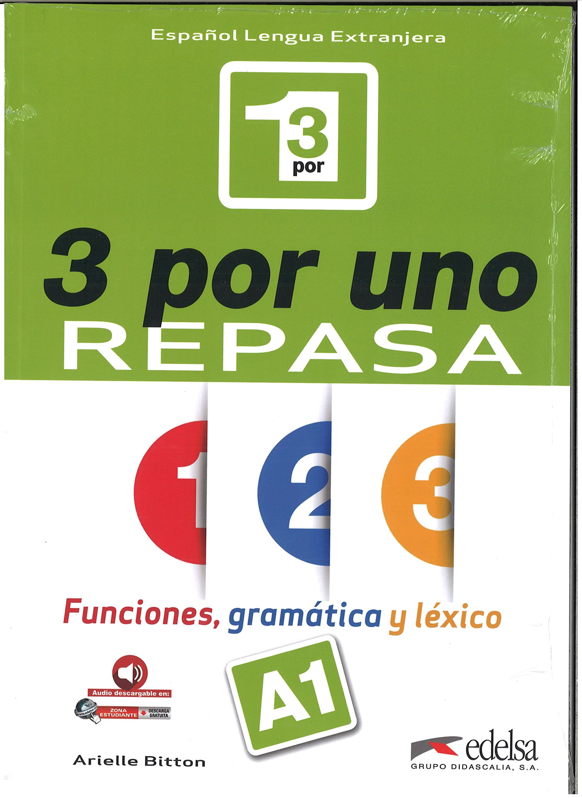 3 por uno A1, Libro del alumno + audio download